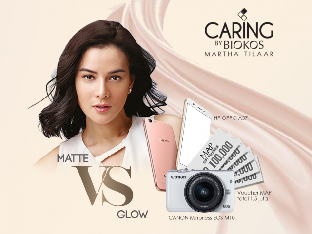 CARING BY BIOKOS MATTE VS GLOW